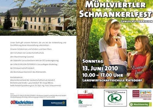 Mühlviertler Schmankerlfest - Katsdorf