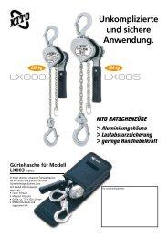 Unkomplizierte und sichere Anwendung. - SHB Seil- und ...