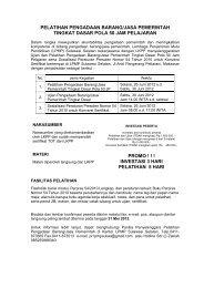 pelatihan pengadaan barang/jasa pemerintah - LPMP Sulsel