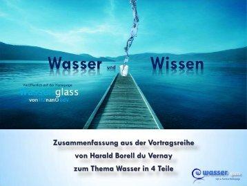 Wasser Wissen 1.Teil