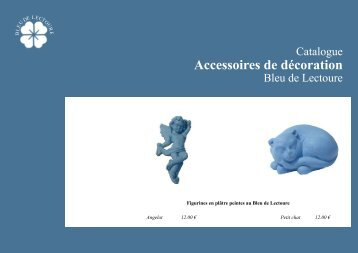 Accessoires de décoration - Bleu de Lectoure