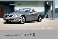 La nueva generación de la Clase SLK - Mercedes-Benz México