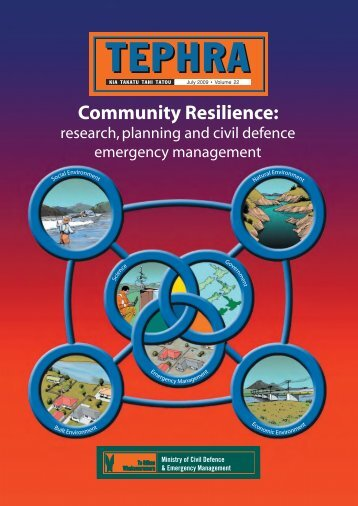Community Resilience - Ministry of Civil Defence and Emergency ...
