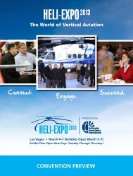 Convention Preview (pdf) - Helicopter Association International