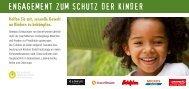 ENGAGEMENT ZUM SCHUTZ DER KINDER - Hotelplan