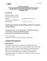 GA Pulsar 40 - BASF Pflanzenschutz Österreich