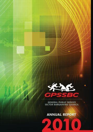 GPSSBC Annual Report 2010