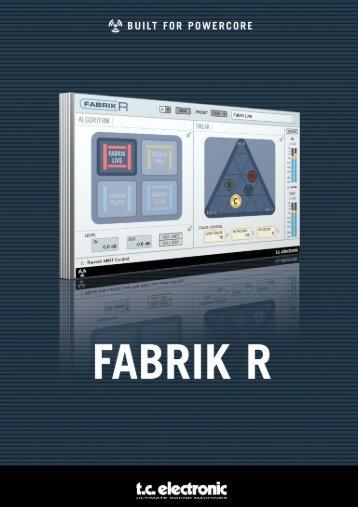 Fabrik R Manual - TC Electronic