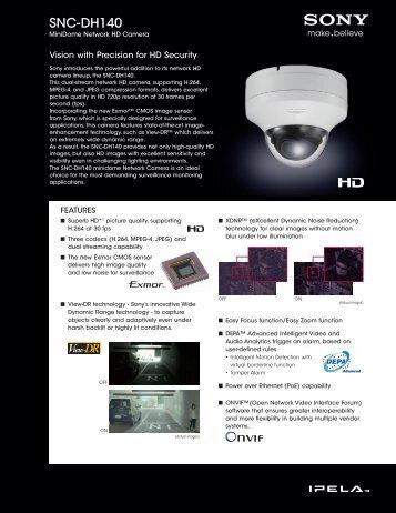 SNC-DH140 - Sony