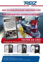 Den aktuellen Prospekt der Reiz GmbH können Sie sich hier noch ...