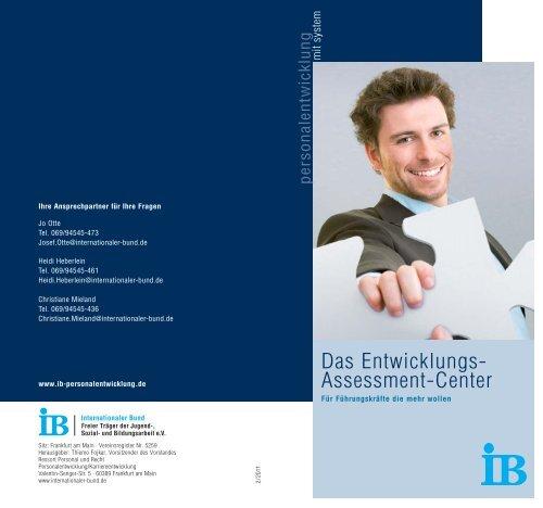 Entwicklungs-Assessment-Center - IB Personalentwicklung