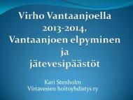 Stenholm Virho Vantaanjoella 2013-2014 a