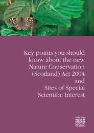 Scotland - Scottish Natural Heritage