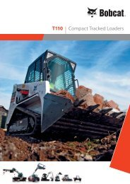T110 | Compact Tracked Loaders - Bobcat.eu