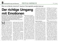 Der richtige Umgang mit Emotionen - Dr. Kraus & Partner