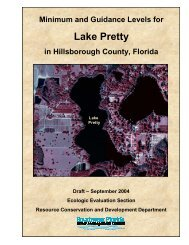 Lake Pretty - Southwest Florida Water Management District