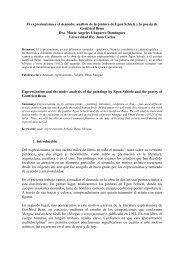 El expresionismo y el desnudo: análisis de la pintura ... - CES Felipe II