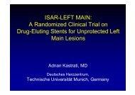 ISAR-LEFT MAIN: A Randomized Clinical Trial on ... - summitMD.com