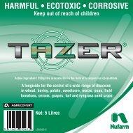 HARMFUL • ECOTOXIC • CORROSIVE Keep out of reach ... - Nufarm