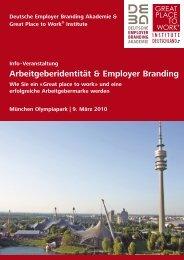 Programm und Anmeldung - Deutsche Employer Branding Akademie