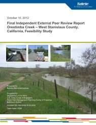 Final IEPR Report - Sacramento District - U.S. Army