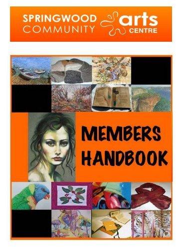 Members Handbook - Springwoodarts.org