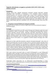 Vägivalla vähendamise arengukava 2010. aasta täitmise aruanne