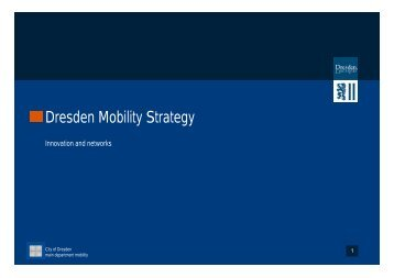 Dresden Mobility Strategy