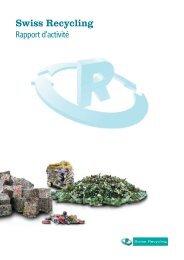 Rapport d'activité de Swiss Recycling