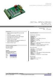 Product Datasheet V1.2 - AVRcard