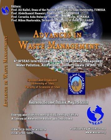 (WWAI '10) Kantaoui, Sousse, Tunisia May 3-6, 2010 ... - Wseas.us