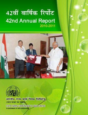 Annual Report 2010-11 - SFCI