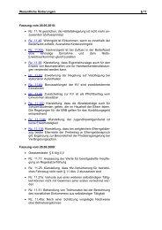 Fachliche Hinweise § 11; Stand: 20.05.2010