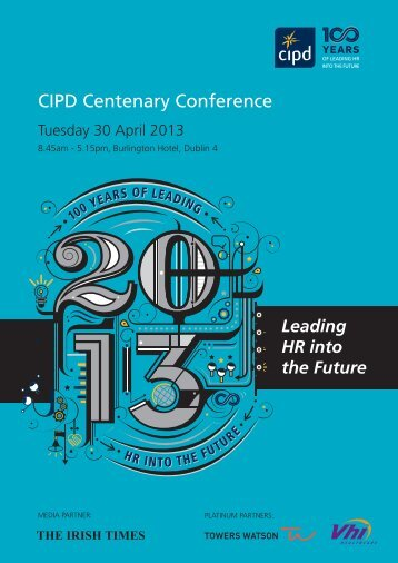 CIPD Ireland Centenary Conference Brochure