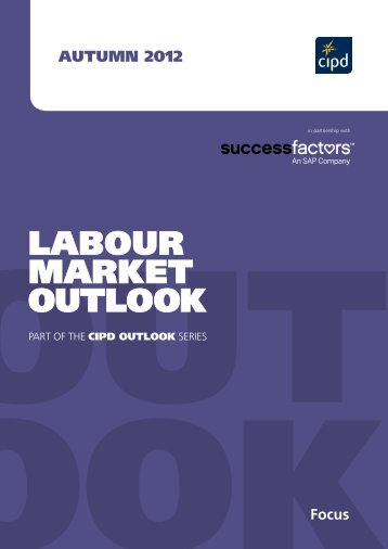 LABOUR MARKET OUTLOOK - CIPD