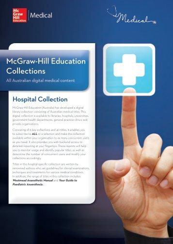Hospital Collection - McGraw-Hill Australia