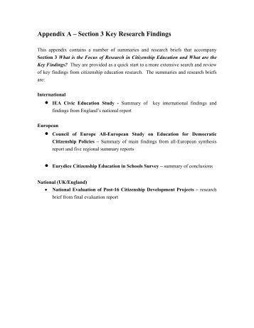 apa format research paper appendix