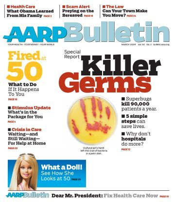 AARP Bulletin - March 2009 - Graduate School of Education and ...