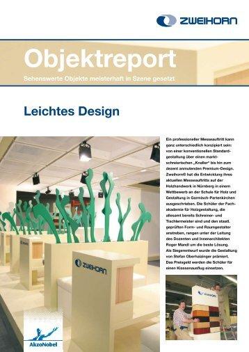 Leichtes Design - Zweihorn