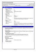 EG-Sicherheitsdatenblatt FÜLL- UND DÄMMSCHAUM - Lugato - Page 6