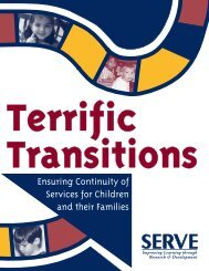 Terrific Transitions - MCESC-preK