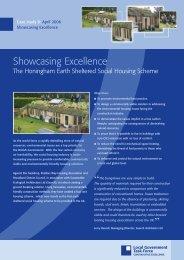 The Honingham earth sheltered housing scheme - Public Architecture