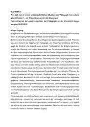 Die Rolle der Stadt im Nationalsozialismus unter pädagogischer ...