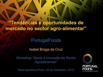 Tendências e oportunidades de mercado no sector agro ... - Adi