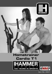 4851 Cardio T1(NL) - NRG fitness systems