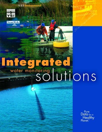 Integrated - Water Monitoring Solutions