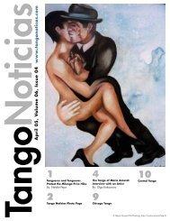 Tango Noticias April 05, V olume 06, Issue 04 www .tangonoticas.com