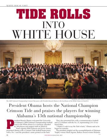Tide Rolls into White House - Indian River Magazine