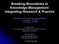 Breaking Boundaries In Knowledge Management: Integrating ...
