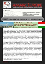 See PDF document - amarc
